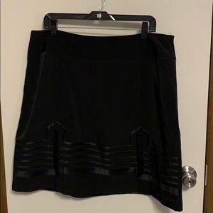 Black Skirt size 18